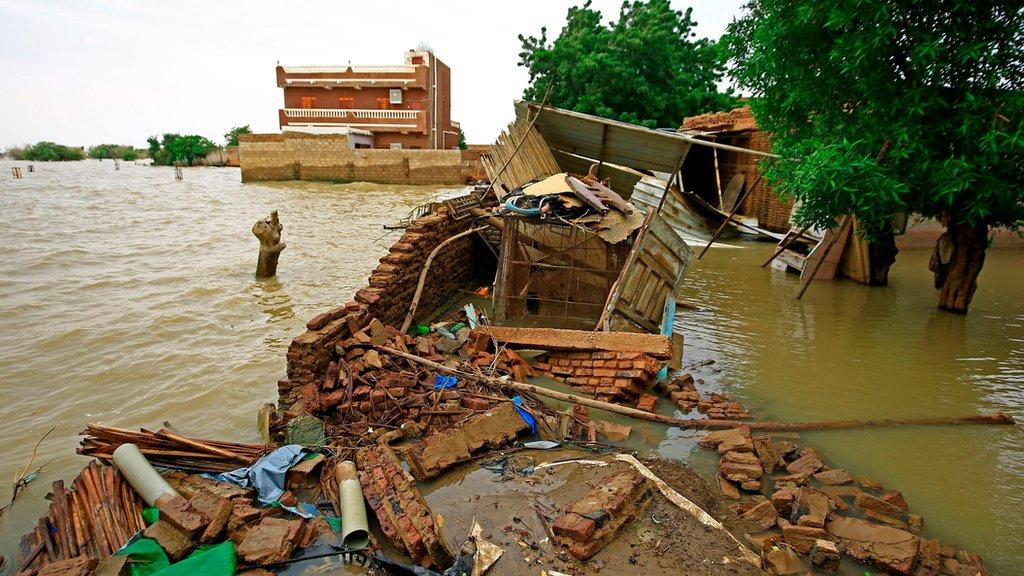 فيضان النيل الفيضانات في السودان
