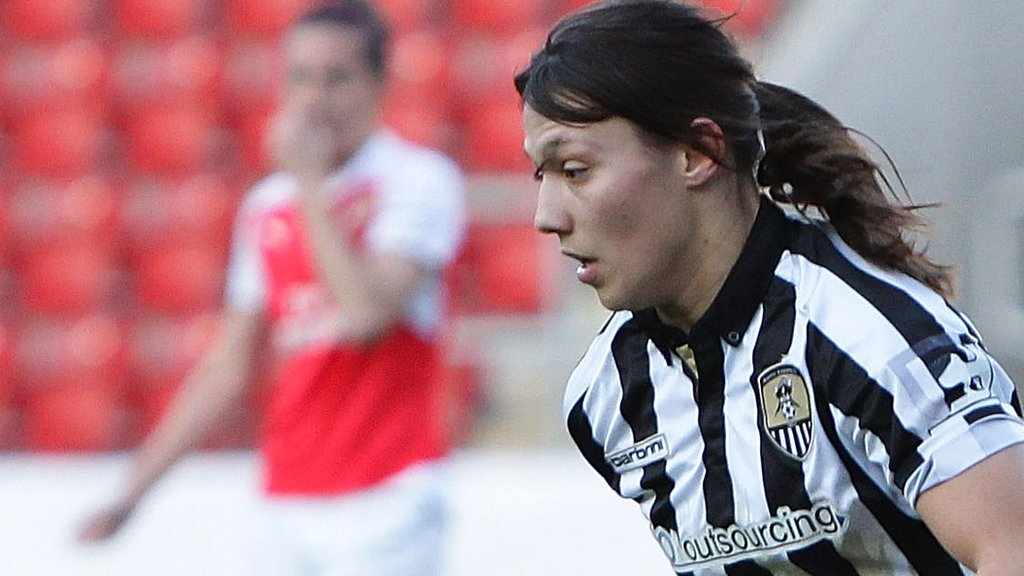 Rachel Williams: Notts Ladies star shocked by England Lionesses recall