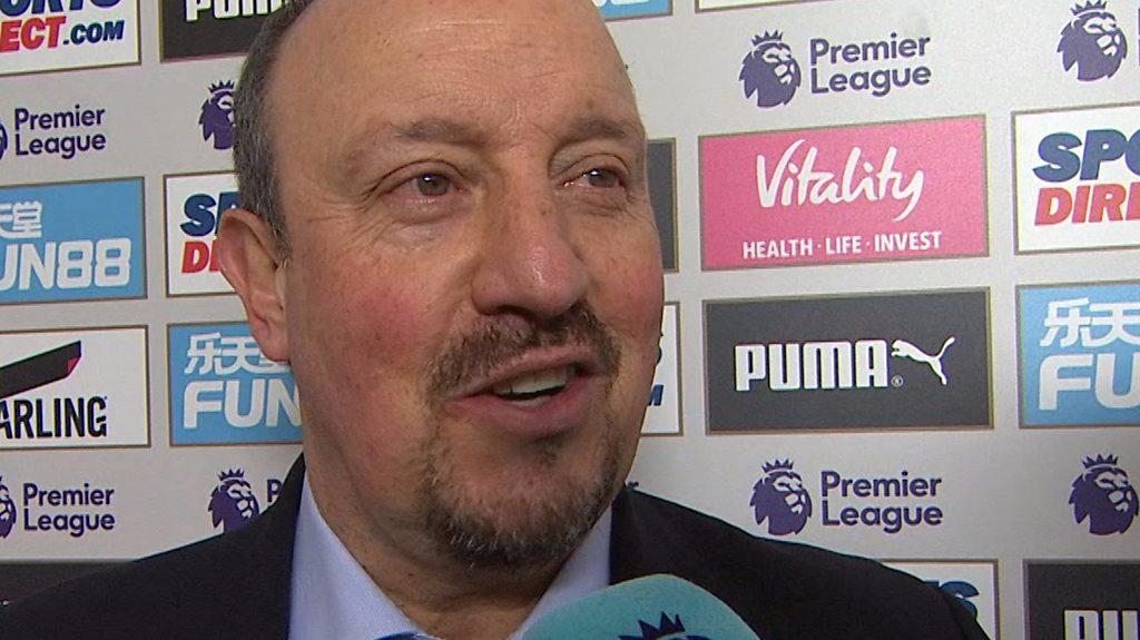 Newcastle 3-0 Cardiff: Everybody has to be happy with Newcastle win - Rafa Benitez