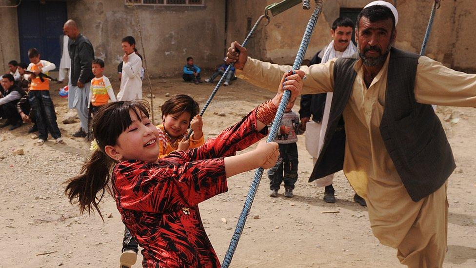 د عکسونو البوم: نوروز د افغانانو د ژوند کتاب کې