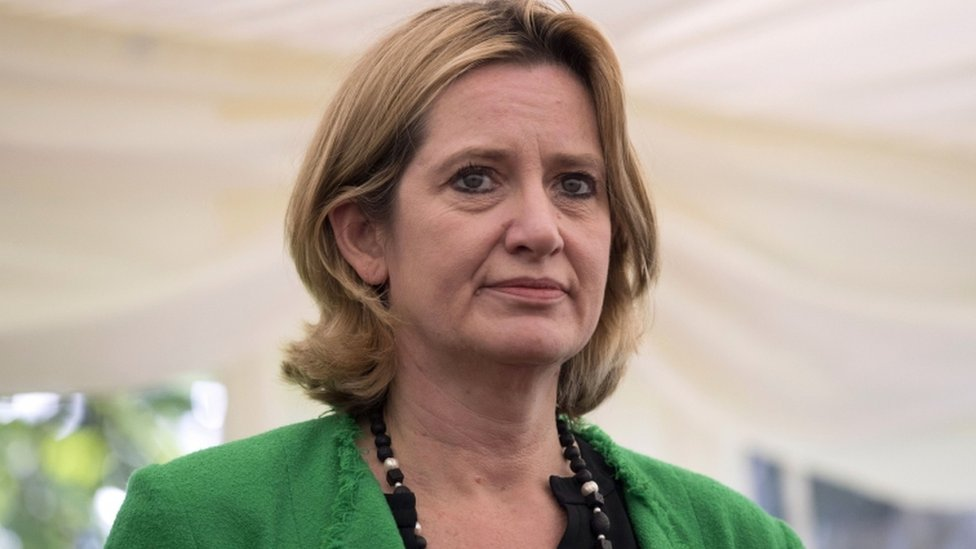 Home Secretary Amber Rudd in France for security talks