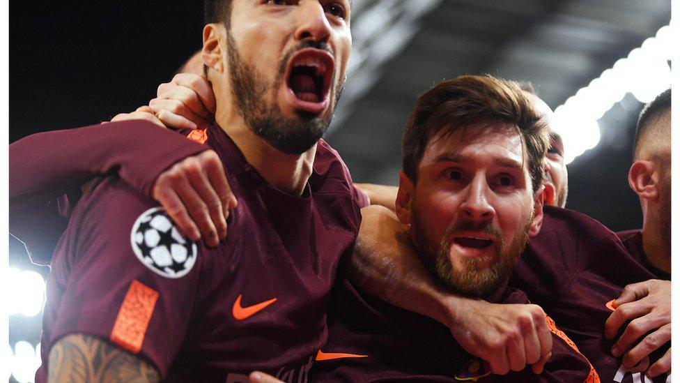 برشلونة الإسباني وتشيلسي الإنجليزي