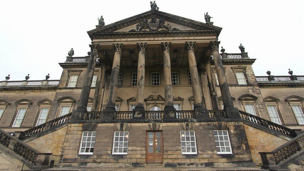 Wentworth Woodhouse: 'The UK's biggest restoration project' | BBC