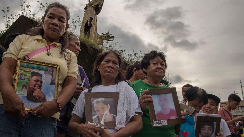 Protestas en Filipinas por la campaña antidrogas de Duterte