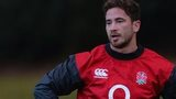 England coach Mike Catt and fly-half Danny Cipriani