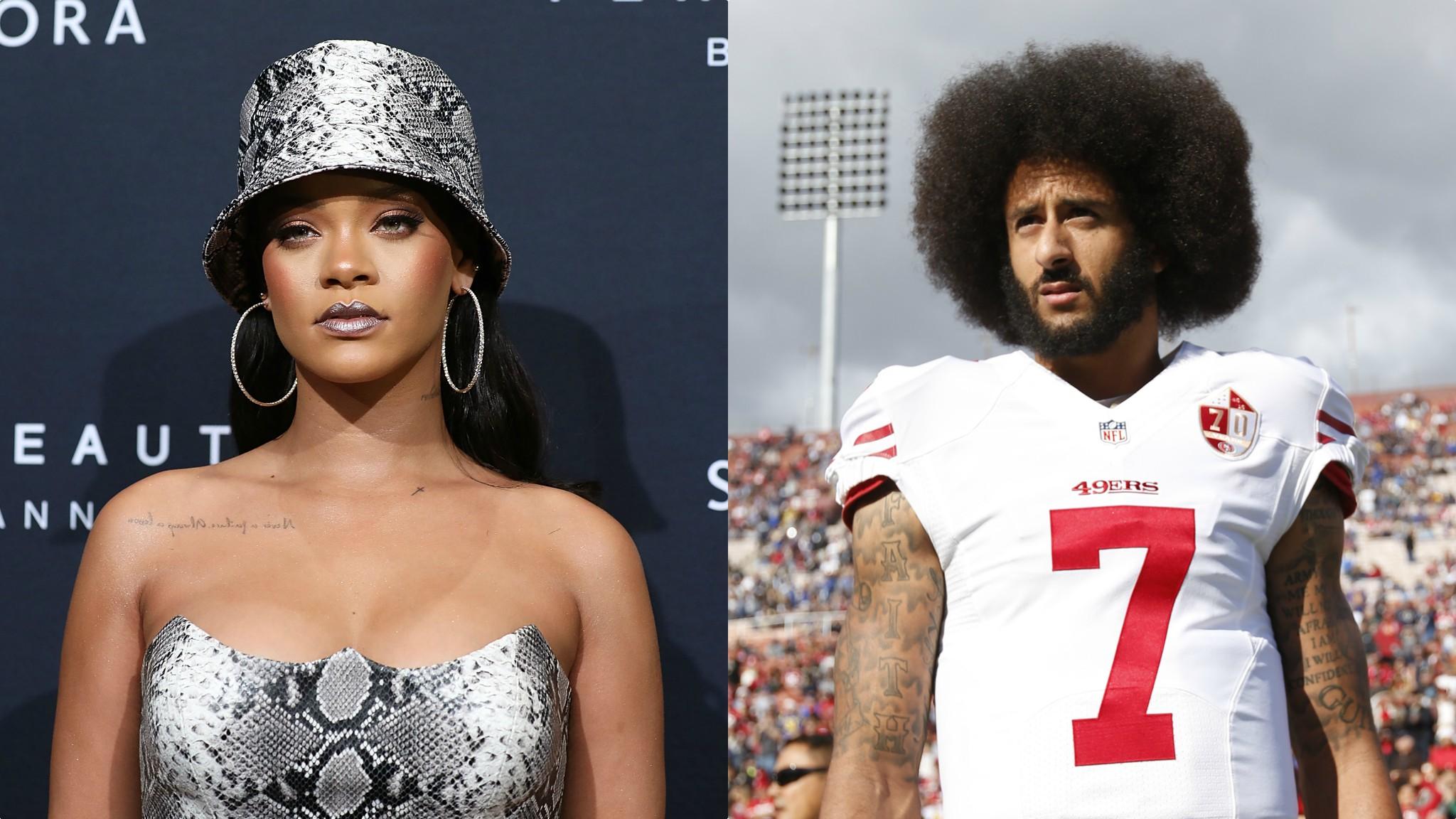 Colin Kaepernick: Rihanna 'declined Super Bowl invitation in support of quarterback'   BBC