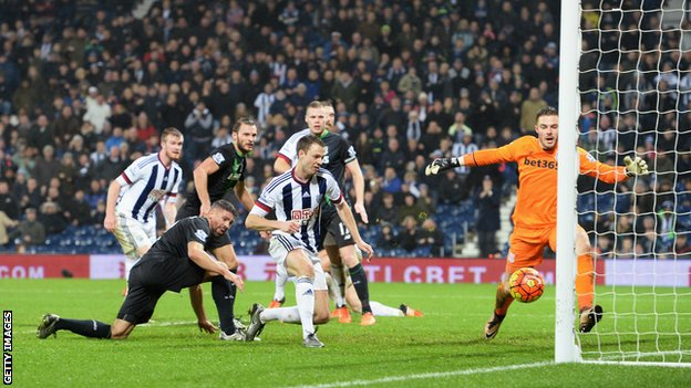 Video: West Bromwich Albion vs Stoke City