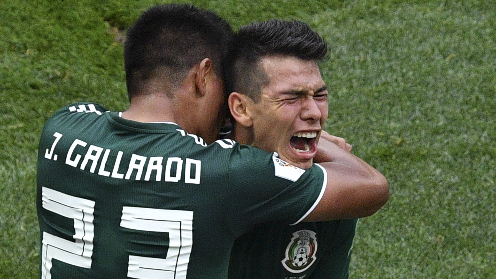 Brilliant Mexico stun champions Germany - highlights & report