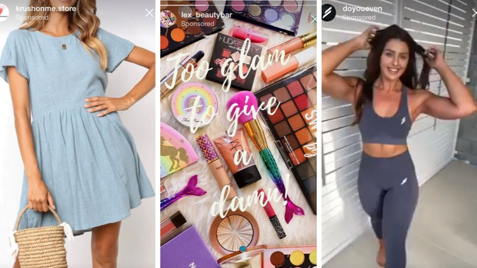 Girl, 12, flooded with beauty ads on Instagram