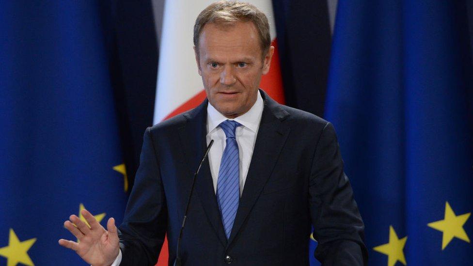 歐洲理事會主席圖斯克
