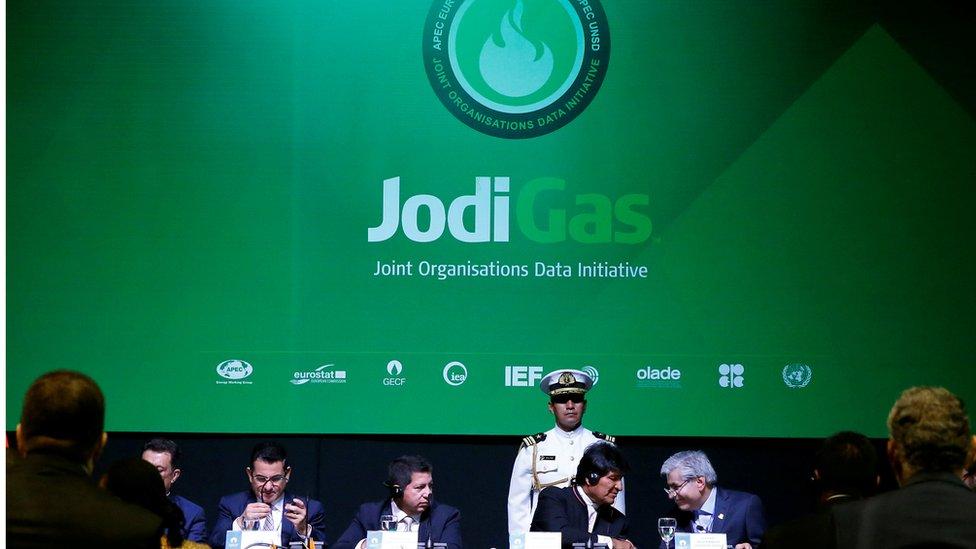 A la reunión de Santa Cruz, en Bolivia, asisten representantes de los gobiernos de los países productores y también de compañías privadas.