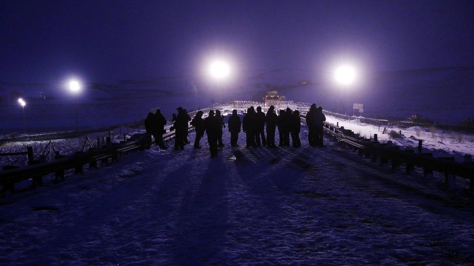 US military veterans join Standing Rock protests in N Dakota