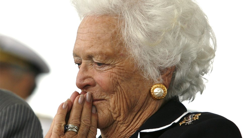Barbara Bush funeral: 1,500 pay tribute to former first lady