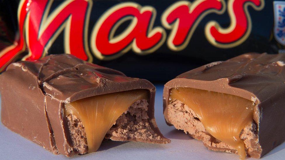 Las barras de Mars son unas de las chocolatinas más populares del mundo.