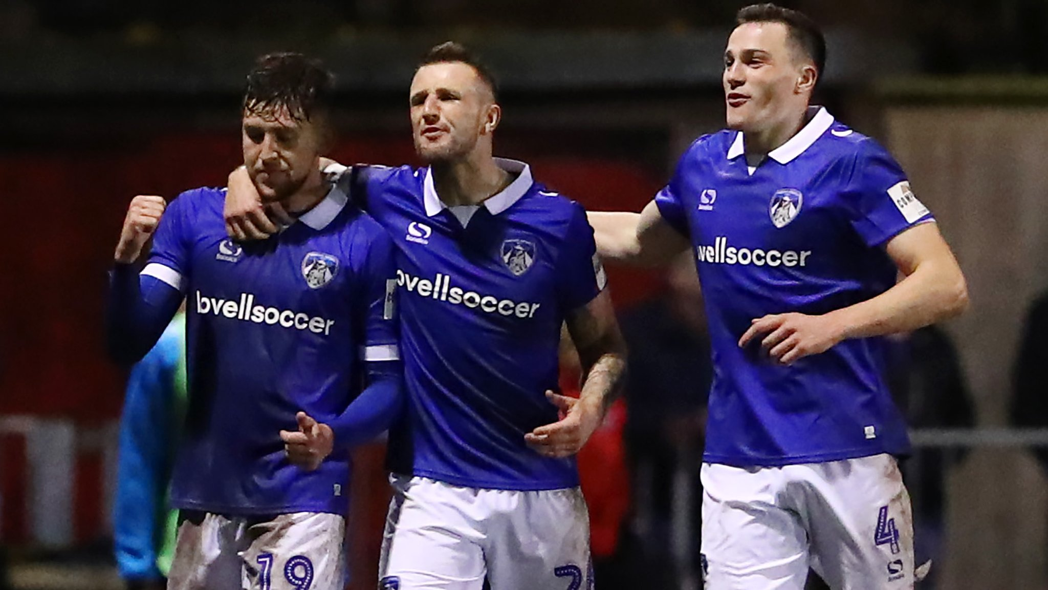 FA Cup: Callum Lang volley gives Oldham victory over Hampton & Richmond