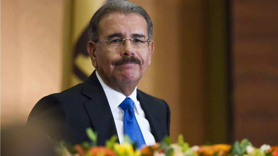 Dominican Republic President Danilo Medina