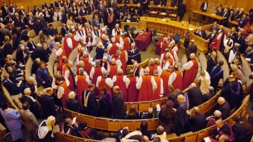 المجمع الكنسي لكنيسة إنجلترا