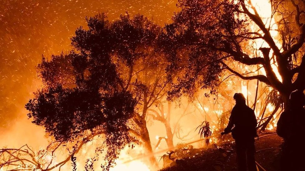 Incendio en Carpinteria