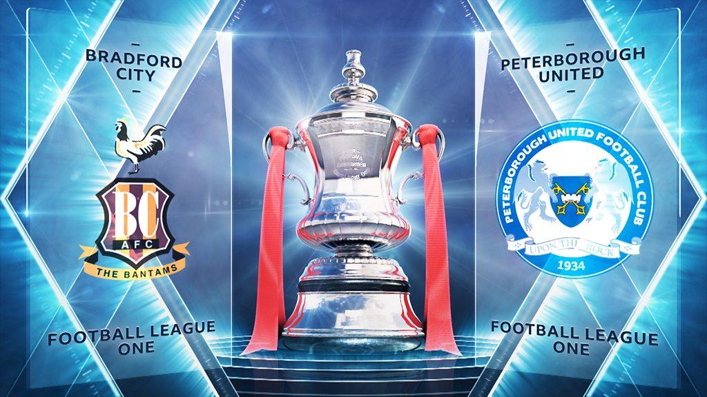 FA Cup highlights: Bradford City 4-4 Peterborough