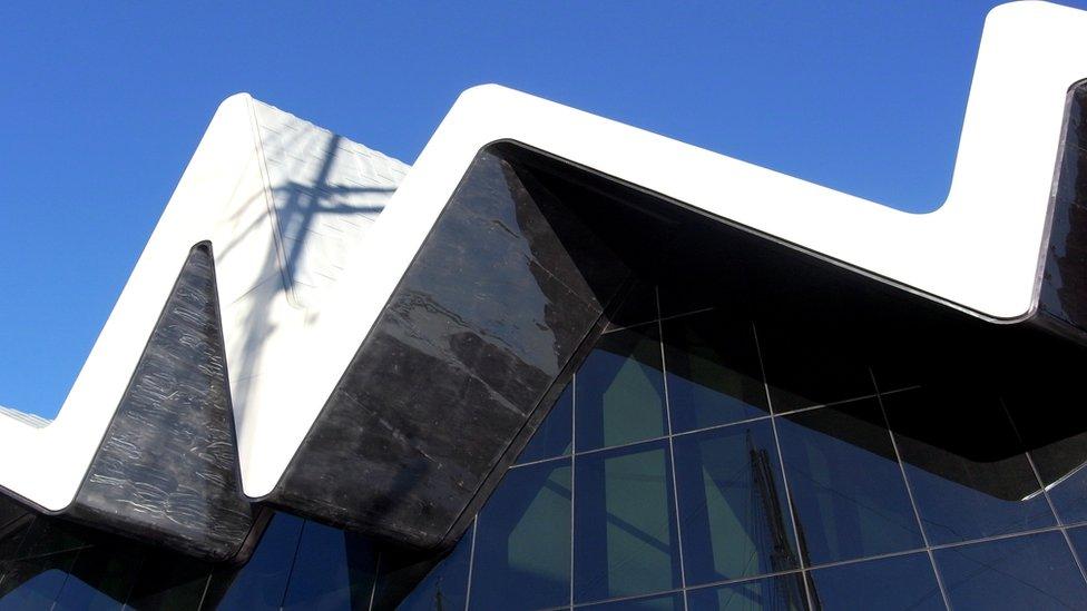 Museo del Transporte Riverside, Glasgow, Escocia.
