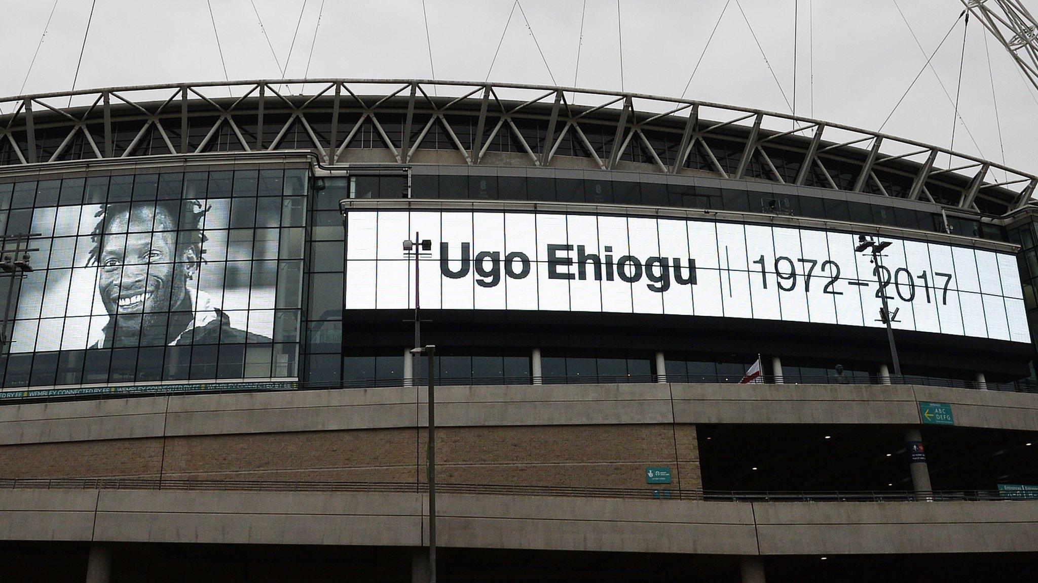 Football pays tribute to former England defender Ehiogu