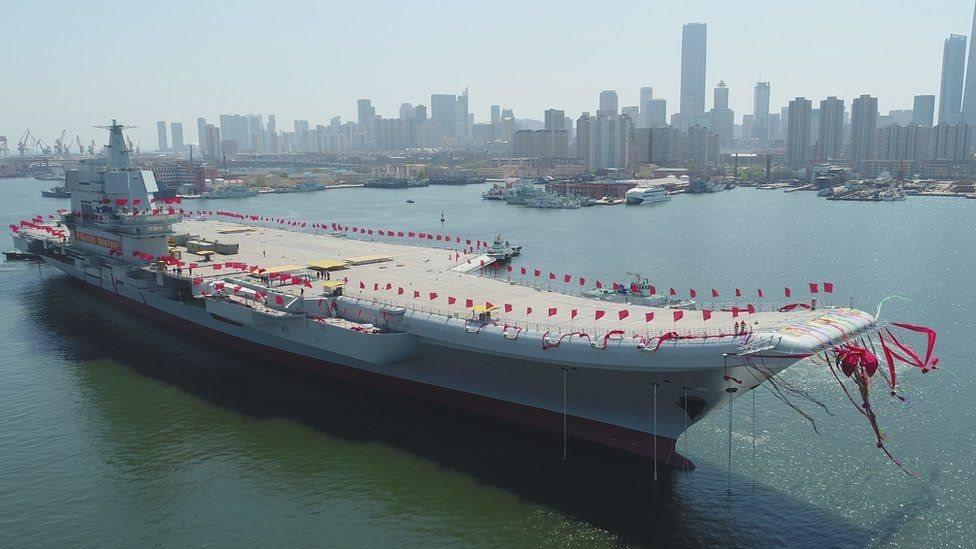 中國國產航母下水 真實力還是擺樣子?