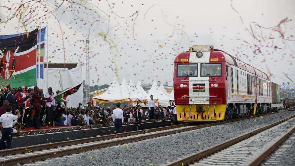Kenya fraud charges over Chinese-funded $3bn railway