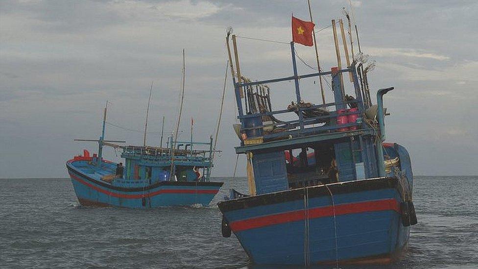 Thuyền cá VN bị bắt ở Quần đảo Solomon