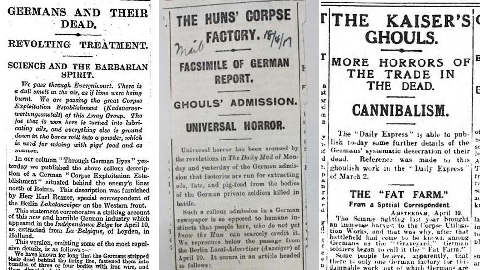 Los periódicos The Times, The Daily Mail y The Daily Express hablaron sobre las