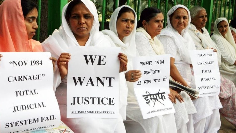 India's man sentenced over anti-Sikh riots in 1984