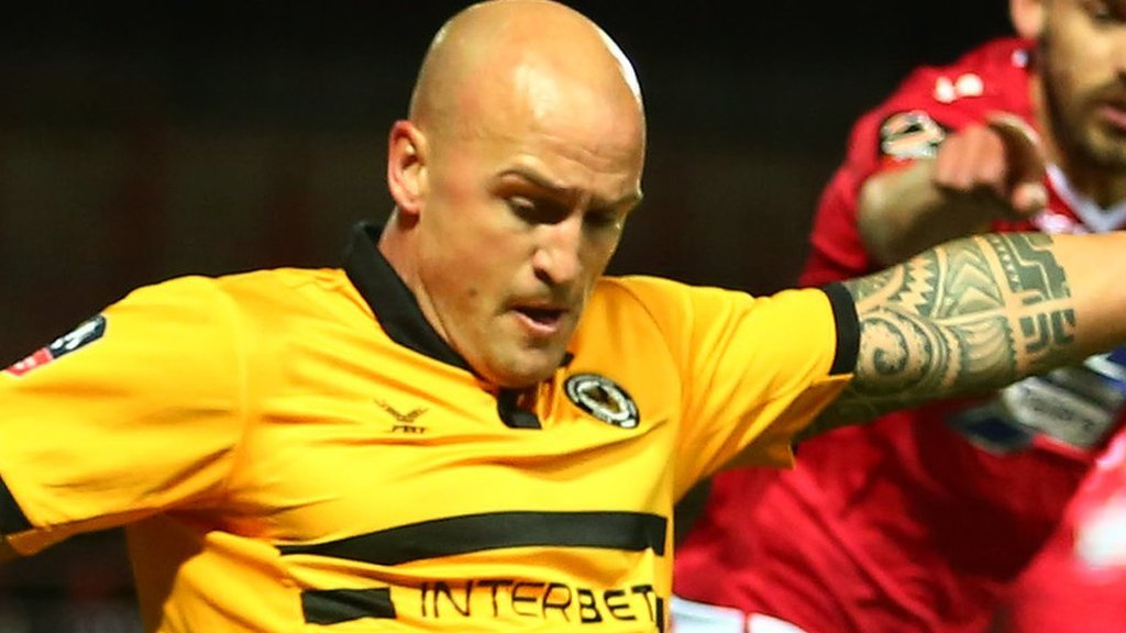David Pipe: Newport County defender to retire at end of season