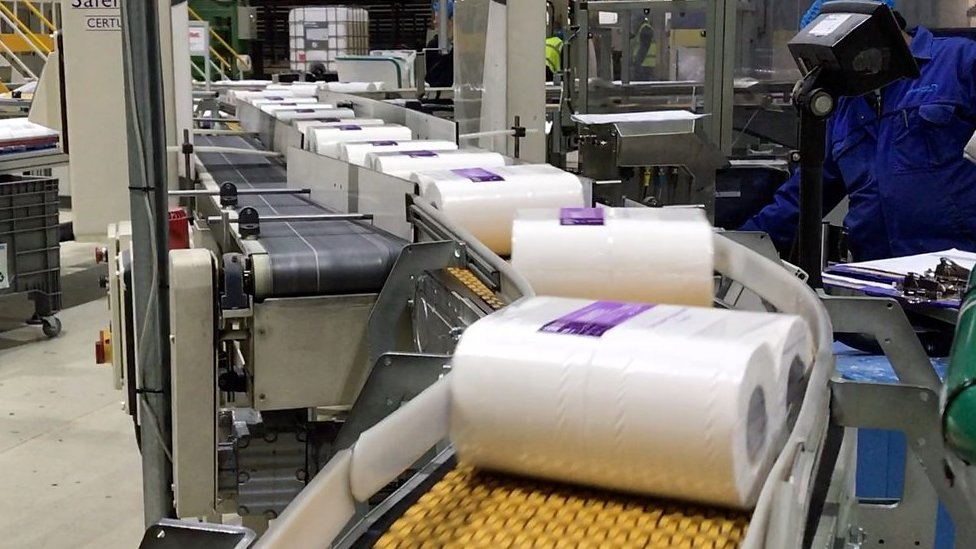 Could no-deal Brexit lead to loo roll logjam?