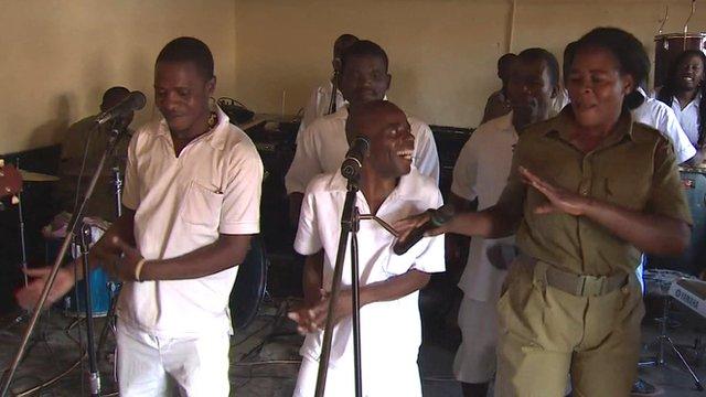 Jailhouse rock: Malawi's prison band success