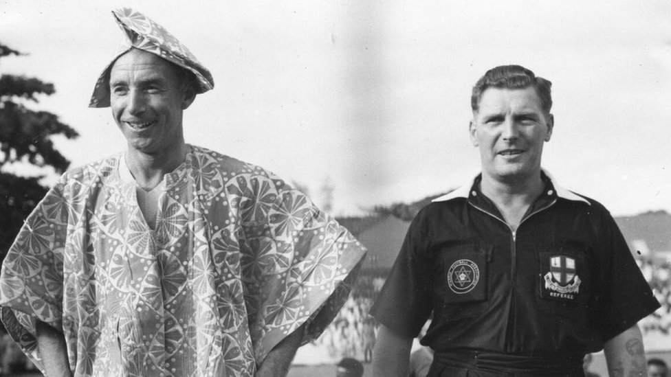 'Saint of soccer' - how Sir Stanley Matthews became a chief in Ghana