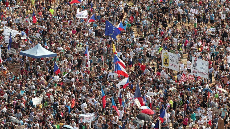 Czech Republic protests: Andrej Babis urged to quit as PM