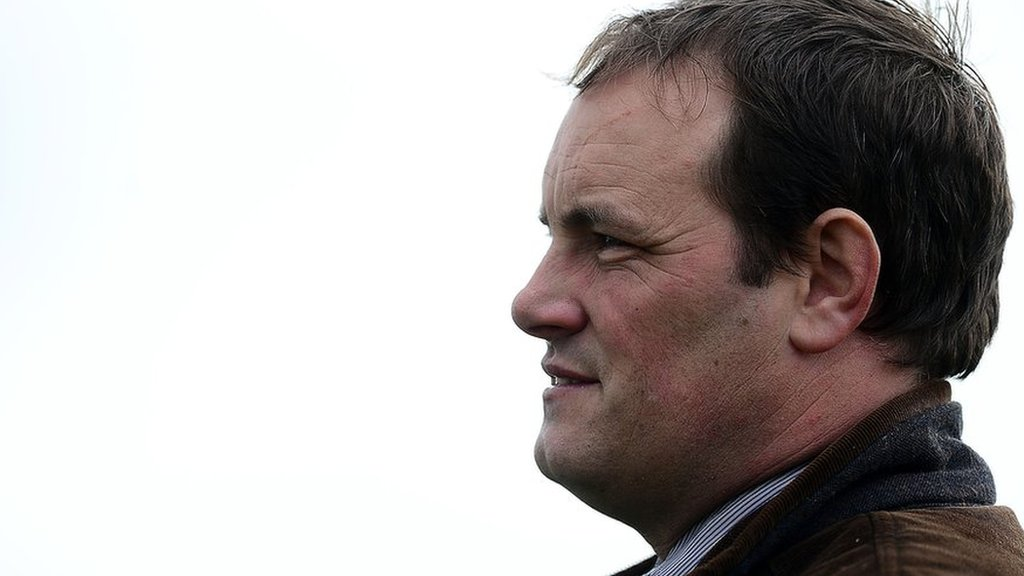 Horse trainer Richard Woollacott took own life after discovering affair
