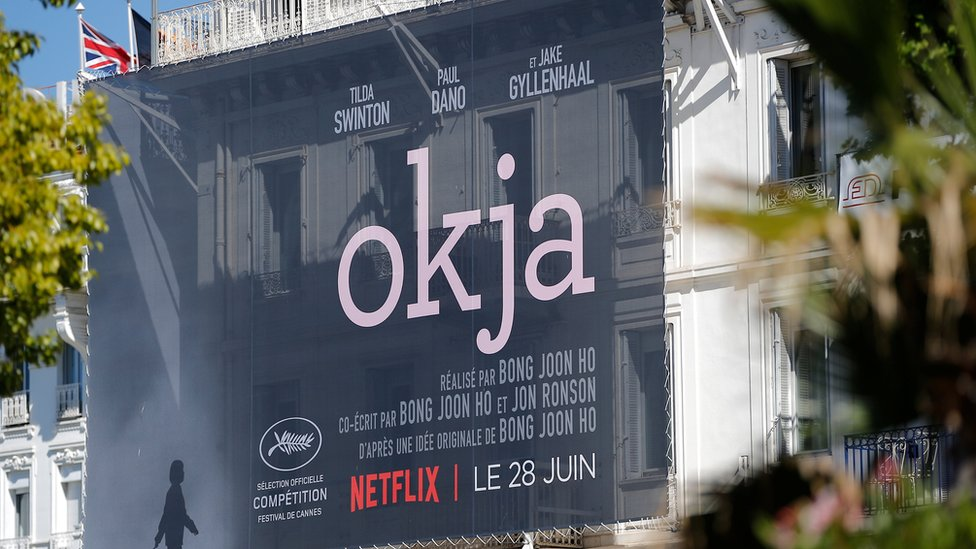 Cartel de la película Okja