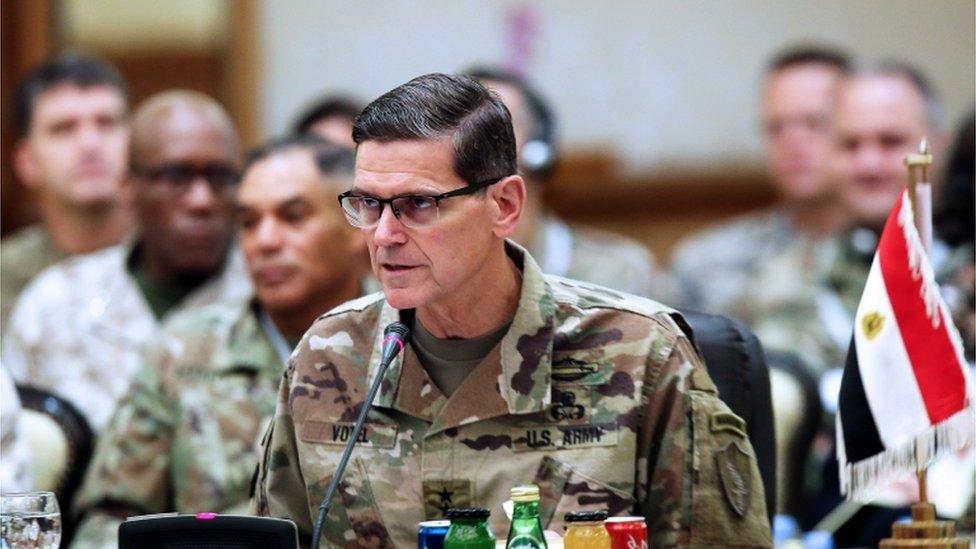 General Joseph Votel breaks rank with Trump over Syria