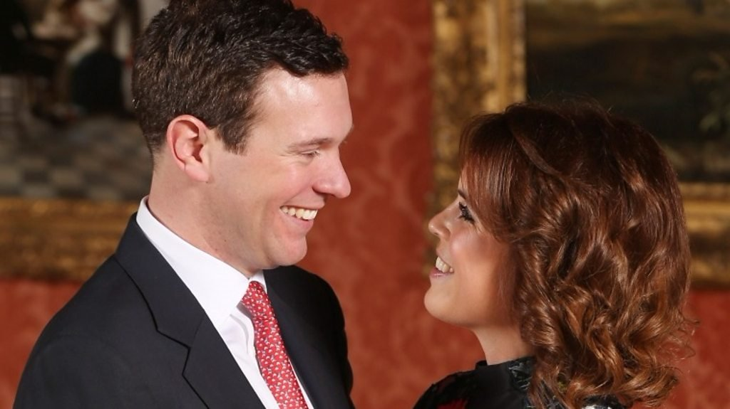 Princess Eugenie: Proposal 'was a complete surprise'