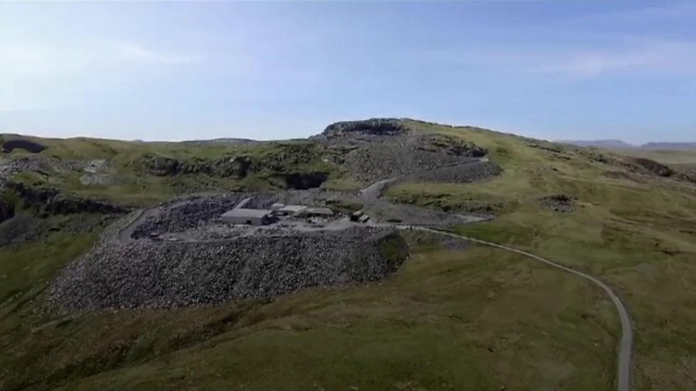 World War Two: The little-known role of a Welsh quarry