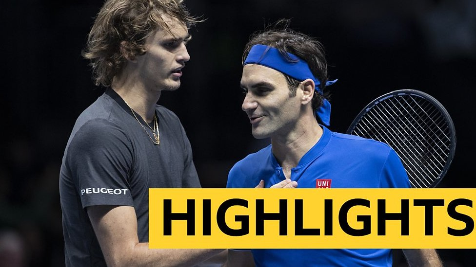 Highlights: Zverev beats Federer in ATP semi-final