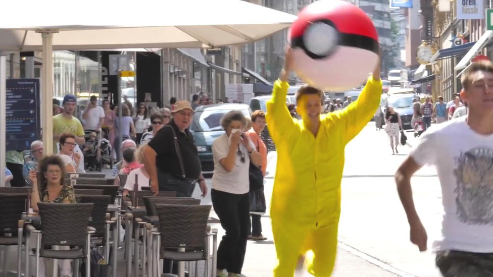 Swiss city Basel 'reverses' Pokemon Go to boost tourism