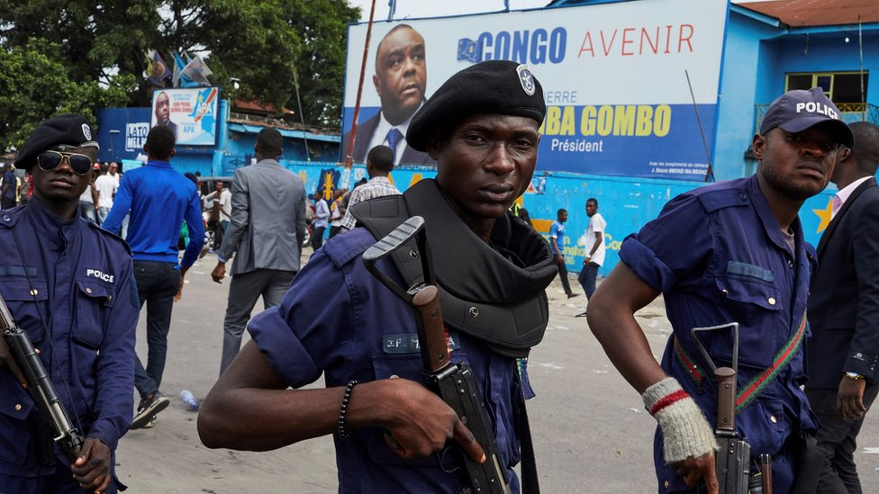 Truth or Not? DR Congo election: Police deploy near home of candidate Martin Fayulu