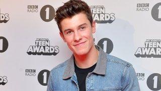 Shawn Mendes wins at Radio 1's Teen Awards