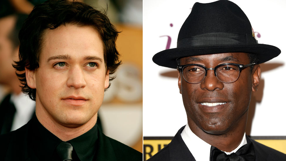 TR Knight e Isaiah Washington