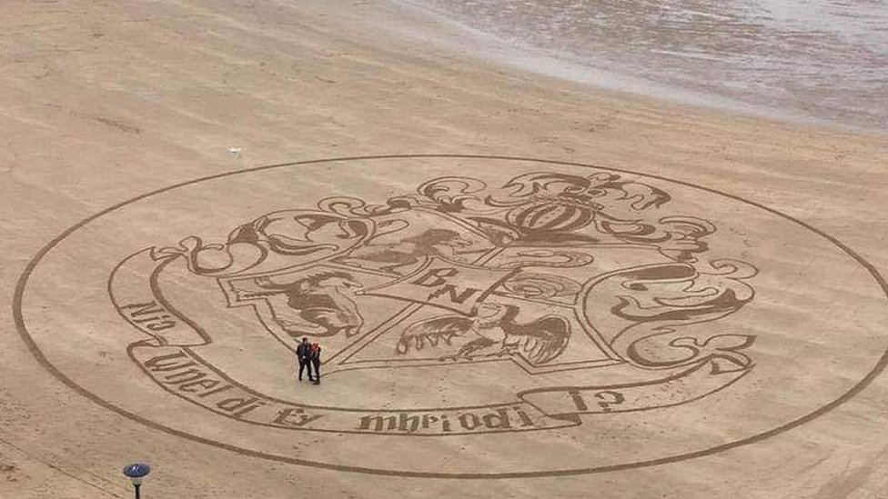 Harry Potter-themed Tenby beach art proposal proves a winner