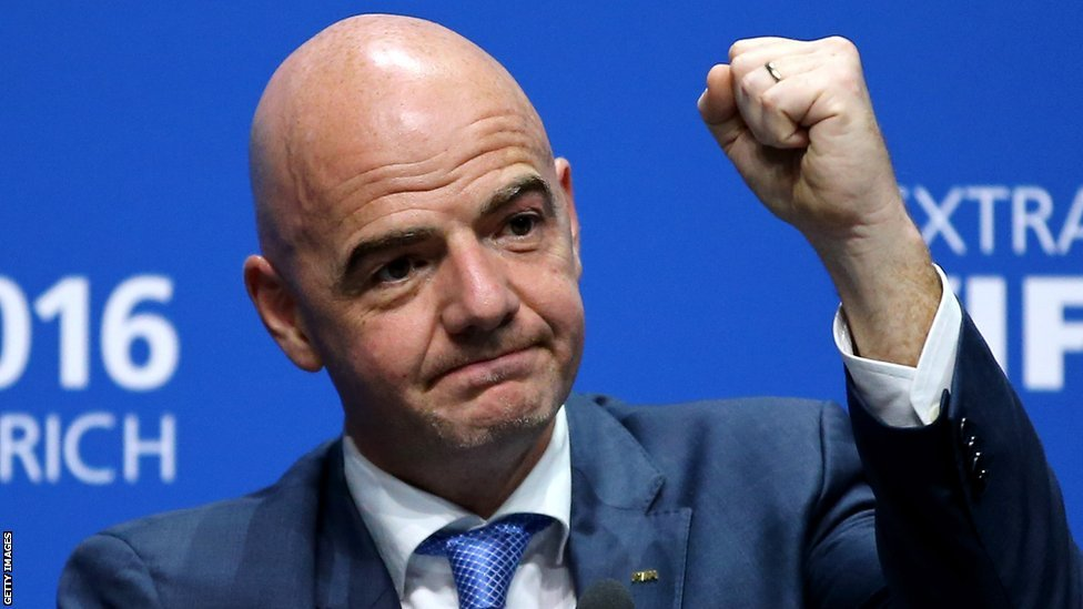 Two more African places for World Cup - Infantino