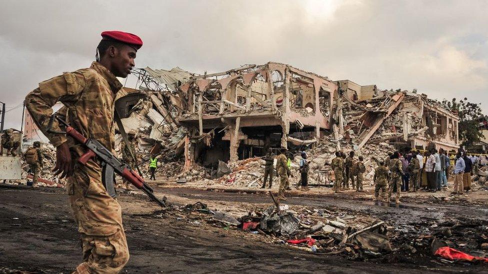 Сомалі: внаслідок вибуху загинули сотні людей