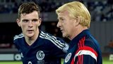 Andrew Robertson and Gordon Strachan