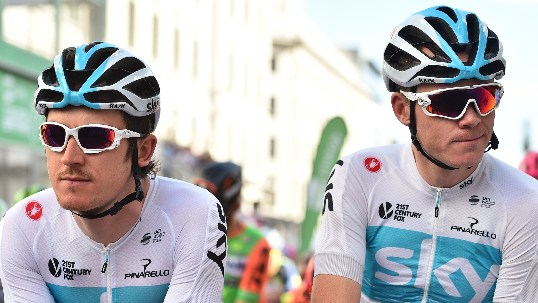 Geraint Thomas says 'let road decide' as Team Sky leader with Chris Froome